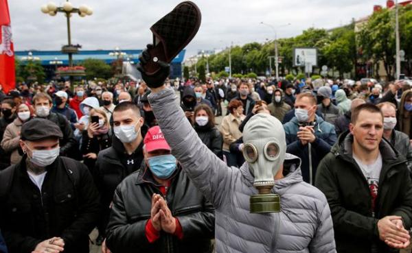 Сын Лукашенко прокомментировал митинги вБелоруссии