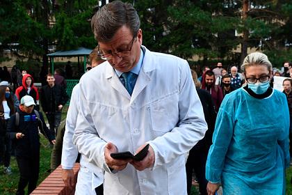 Главврач лечившей Навального больницы возглавит еще одно медучреждение
