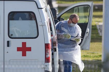У больницы вКоммунарке заметили скопление машин скорой помощи
