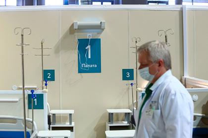 В России осталось десять процентов коек для пациентов скоронавирусом